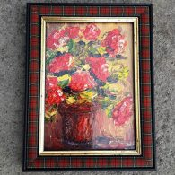 Burns Bouquet Framed