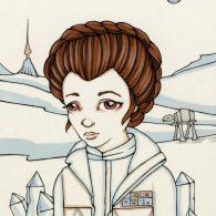 Little Hoth Leia