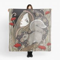 Ratatosk Supersize Chiffon Scarf
